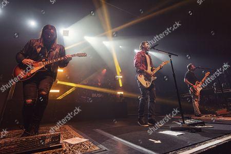Bush - Chris Traynor, Gavin Rossdale, Corey Britz