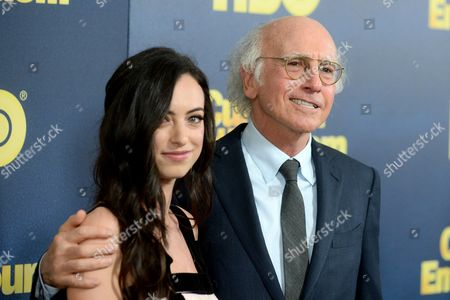 Stock Photo of Cazzie David, Larry David