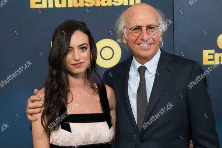 Larry David and his daughter Cazzie David