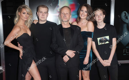 Niels Arden Oplev and family