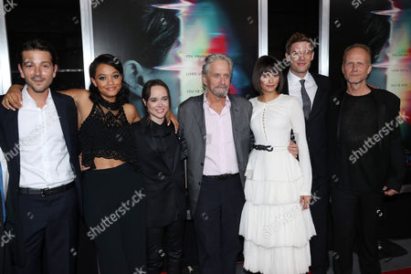 Editorial image of 'Flatliners' film premiere, Arrivals, Los Angeles, USA - 27 Sep 2017