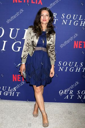 Editorial image of 'Our Souls at Night' film premiere, Arrivals, New York, USA - 27 Sep 2017