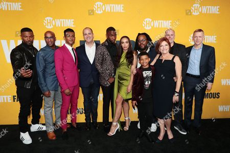 Jamie Foxx,Tim Story, Utkarsh Ambudkar, David Nevins, President and CEO, Showtime Networks, Jay Pharoah, Cleopatra Coleman, Jacob Ming-Trent, Lonnie Chavis, Sandra Stern, President, Lionsgate Television, Tom Kapinos and Kevin Beggs, Chairman and CEO, Lionsgate TV