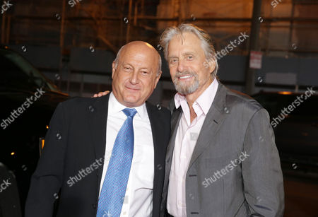 Laurence Mark, Producer, and Michael Douglas, Producer,
