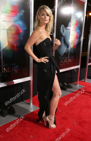 Editorial image of Columbia Pictures World Premiere of 'Flatliners', Los Angeles, CA, USA - 27 Sep 2017
