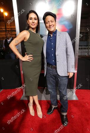 Patricia Maya Schneider and Rob Schneider