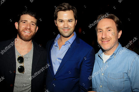 Bryan Greenberg, Andrew Rannells and Jonathan Tropper