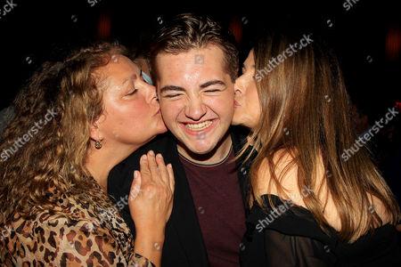 Stock Image of Aida Turturro, Michael Gandolfini and Lorraine Bracco
