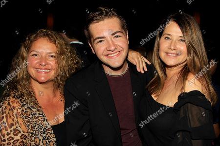 Stock Picture of Aida Turturro, Michael Gandolfini and Lorraine Bracco