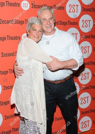 """John Dossett attends the Off-Broadway opening night of """"The Layover"""" at the Second Stage Theatre, in New York"""