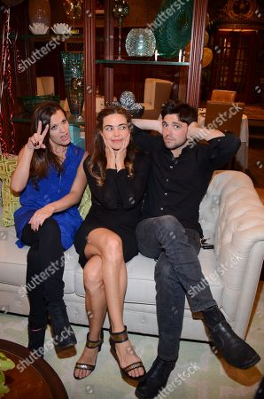"Melissa Claire Egan, Amelia Heinle, and Robert Adamson seen at ""The Young And The Restless"" 41st Anniversary, on in Los Angeles, Calif"