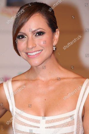 Satcha Pretto arrives during the 2013 Premios Juventud at the BankUnited Center at University of Miami on in Coral Gables, FL