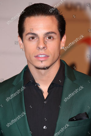 Beau Casper Smart arrives during the 2013 Premios Juventud at the BankUnited Center at University of Miami on in Coral Gables, FL
