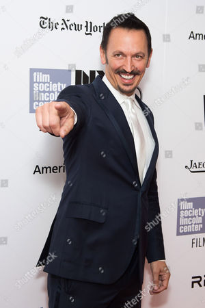 """Steve Valentine attends the New York Film Festival opening night gala premiere for """"The Walk"""" at Alice Tully Hall, in New York"""