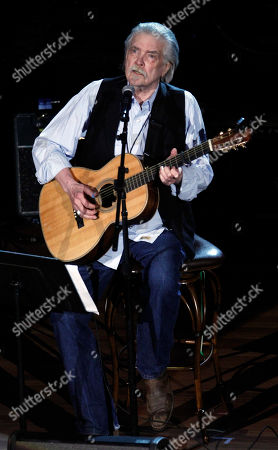 Stock Photo of Guy Clark performs at the 11th annual Americana Honors & Awards, in Nashville, Tenn
