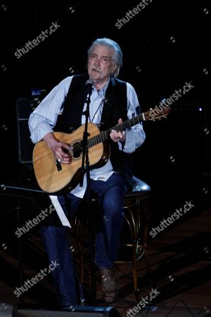 Stock Picture of Guy Clark performs at the 11th annual Americana Honors & Awards, in Nashville