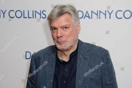 Stock Photo of Steve Tilston poses for photographers at the UK Premiere of Danny Collins at a central London cinema