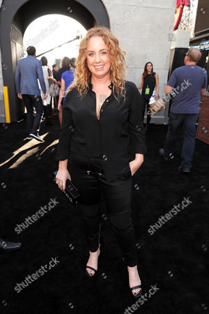 Jessica Chaffin is seen at the Los Angeles Premiere of Columbia Pictures' Ghostbusters at TCL Chinese Theatre, in Los Angeles
