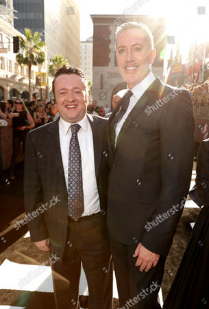Neil Casey and Michael McDonald are seen at the Los Angeles Premiere of Columbia Pictures' Ghostbusters at TCL Chinese Theatre, in Los Angeles