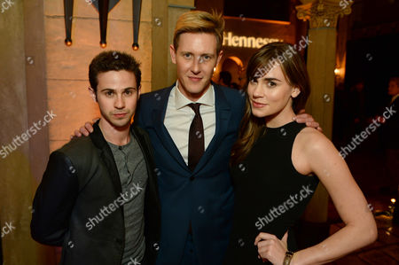 "Hennessy V.S hosted, from left, Connor Paolo, Gabriel Mann and Christa B. Allen to celebrate the premiere of ""Cesar Chavez"" at the Roosevelt Hotel, in Los Angeles"