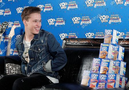Ryan Beatty enjoyed Pop-Tarts at the #CrazyGoodSummer concert at South Side Ballroom, in Dallas, Texas