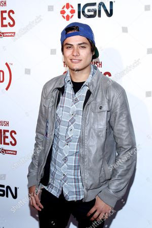 Kiowa Gordon arrives at the (RED)Rush Games on in Los Angeles
