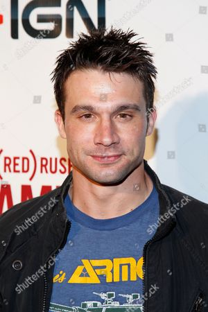 Dillon Casey arrives at the (RED)Rush Games on in Los Angeles