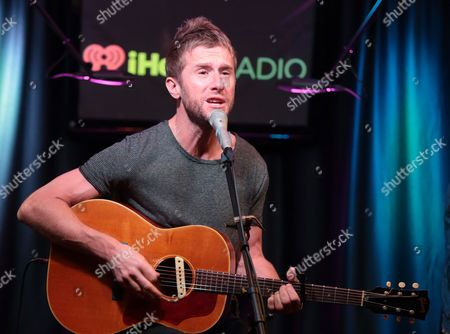 Danny Bemrose of the band Scars on 45 visits the Mix 106 Performance Theater, in Philadelphia