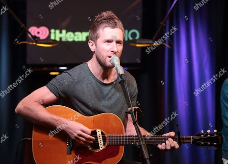 Stock Picture of Danny Bemrose of the band Scars on 45 visits the Mix 106 Performance Theater, in Philadelphia