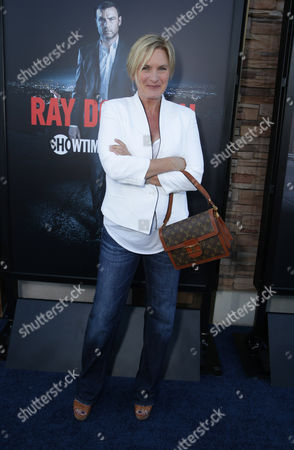 Denise Crosby pictured at SHOWTIME and Time Warner Cable's 'Ray Donovan' Season 2 premiere on Wednesday, July 9 at Regal Malibu Twin Theater in Malibu, Calif