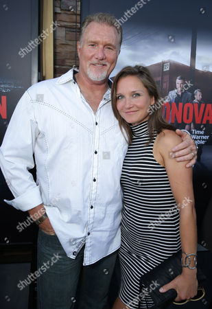 Stock Image of Michael McGrady and Ilka McGrady pictured at SHOWTIME and Time Warner Cable's 'Ray Donovan' Season 2 premiere on Wednesday, July 9 at Regal Malibu Twin Theater in Malibu, Calif