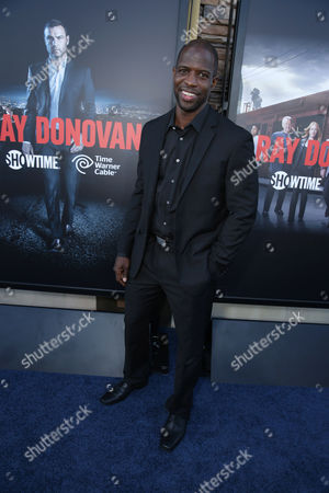 Kwame Patterson pictured at SHOWTIME and Time Warner Cable's 'Ray Donovan' Season 2 premiere on Wednesday, July 9 at Regal Malibu Twin Theater in Malibu, Calif