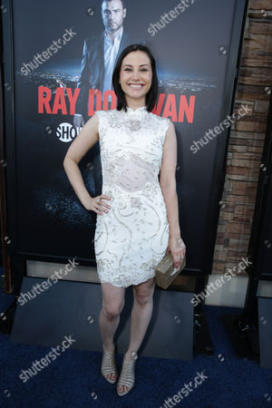 Heather McComb pictured at SHOWTIME and Time Warner Cable's 'Ray Donovan' Season 2 premiere on Wednesday, July 9 at Regal Malibu Twin Theater in Malibu, Calif