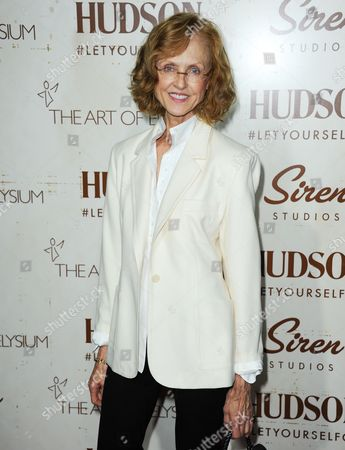 Jill Larson arrives at The Art of Elysium's 5th Annual Genesis at Siren Cube on in Los Angeles