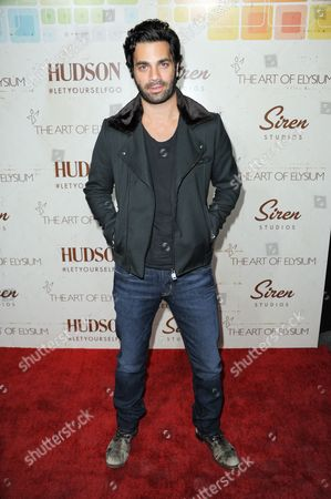 Michael Masini arrives at The Art of Elysium's 5th Annual Genesis at Siren Cube on in Los Angeles