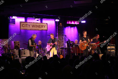 Kevin Bacon and Michael Bacon with The Bacon Brothers perform at City Winery Atlanta, in Atlanta