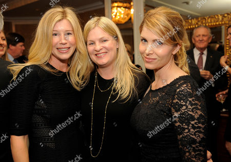 Committee member Mary Kumble, left, poses with Erica Kanter, center, and screenwriter Deborah Kaplan at The Brady Campaign to Prevent Gun Violence Los Angeles Gala at The Beverly Hills Hotel on in Beverly Hills, Calif