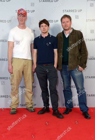 "Stock Photo of Writer Jonathan Asser, actor Jack O'Connell and Director David McKenzie arrive at the UK Screening of ""Starred Up"" at Hackney Picture House in London on Tuesday, March. 18th, 2014"
