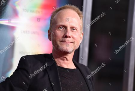 """Director Niels Arden Oplev arrives at the world premiere of """"Flatliners"""" at The Theatre at Ace Hotel, in Los Angeles"""