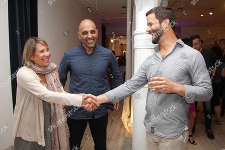 Stock Image of Paulette Cole, Pedram Shojai and Mark van Wijk (Director)