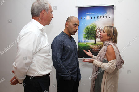 Editorial image of Reception and Q&A for 'Prosperity', New York, USA - 27 Sep 2017
