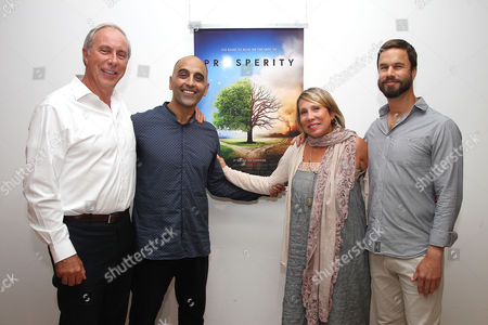 Stock Picture of Carl Lindahl (Producer), Pedram Shojai, Paulette Cole and Mark van Wijk (Director)