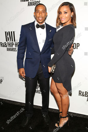 Stock Image of Ludacris and Eudoxie Agnan arrive during the BMI R&B Hip Hop Awards on at The Pantages Theatre in Los Angeles, Calif