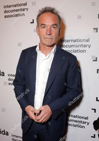 Nick Broomfield attends the International Documentary Association's 2014 IDA Documentary Awards at Paramount Studios on in Los Angeles