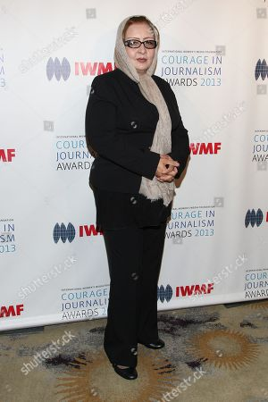 Editorial picture of International Womenâ?™s Media Foundationâ?™s 2013 Courage in Journalism Awards, Beverly Hills, USA