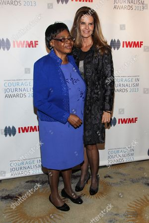 Editorial photo of International Womenâ?™s Media Foundationâ?™s 2013 Courage in Journalism Awards, Beverly Hills, USA