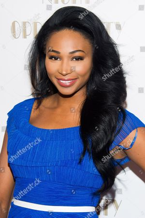 Nana Meriwether attends The Opportunity Network's seventh annual Night of Opportunity gala on in New York