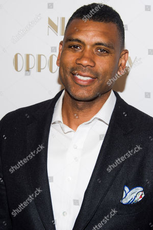Allan Houston attends The Opportunity Network's seventh annual Night of Opportunity gala on in New York