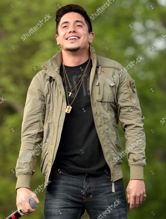 Stefano Langone Former American Idol contestant Stefano performs on stage at Rockford Park, in Wilmington, Del