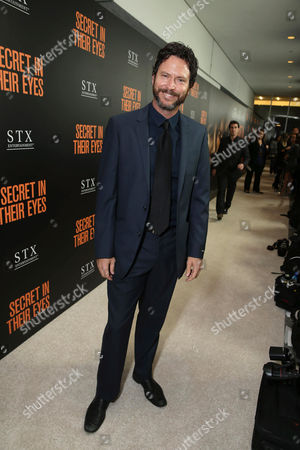 Will Beinbrink seen at STX Entertainment's 'Secret In Their Eyes' Premiere at Hammer Museum, in Los Angeles, CA